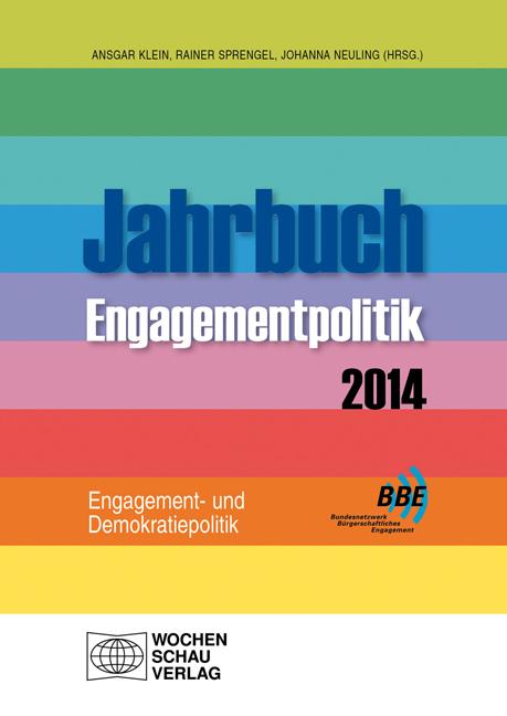 Jahrbuch Engagementpolitik 2014
