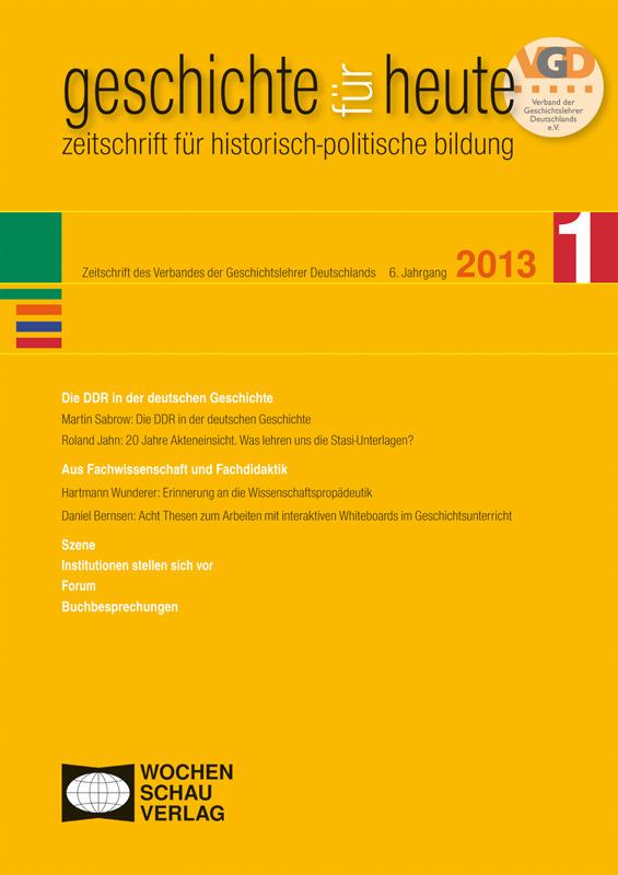 Die DDR in der deutschen Geschichte
