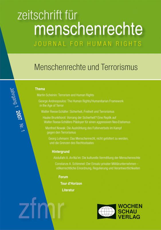 Menschenrechte und Terrorismus