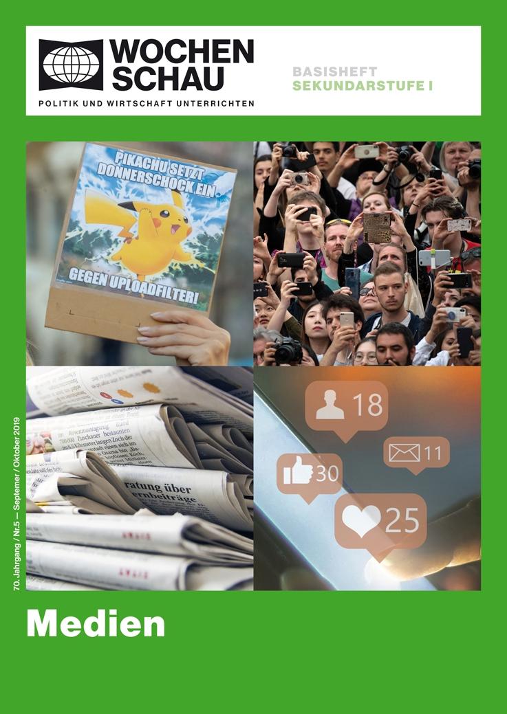 Medien Soziale Medien, Instagram, twitter, Facebook, Clickbaiting
