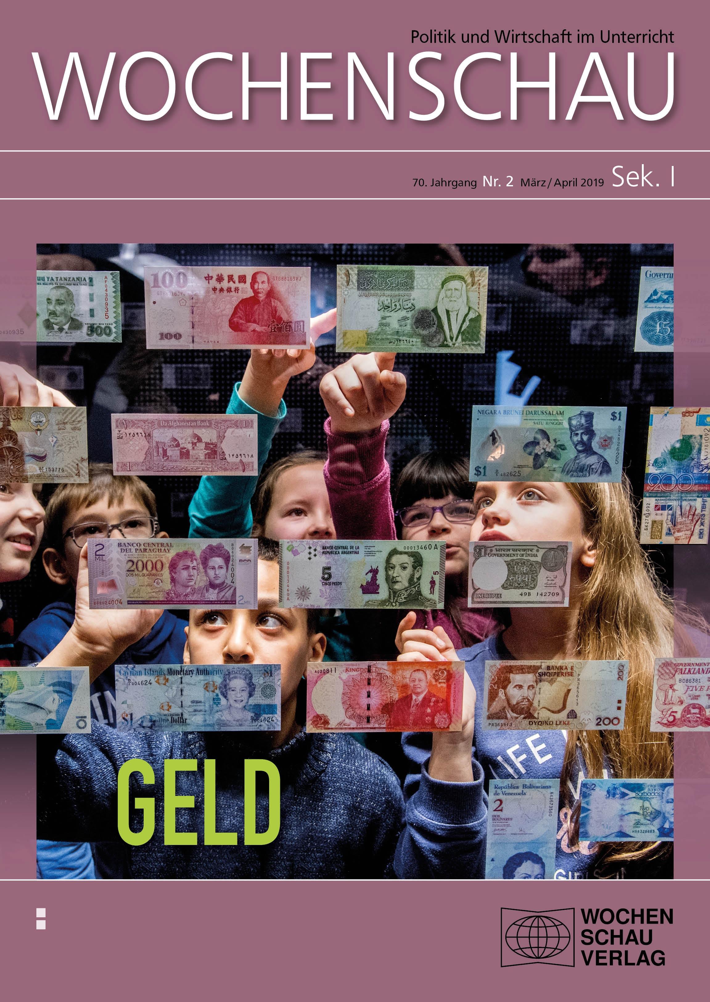 Geld, Finanzen, Wirtschaft, Schule, Politikunterricht