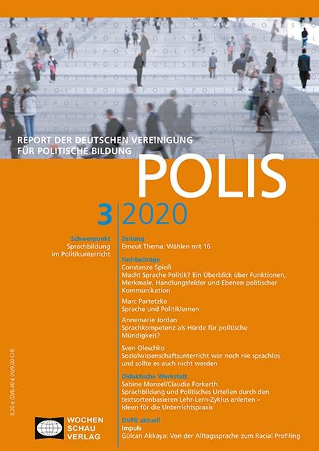Polis 3/20 Sprachbildung im Politikunterricht