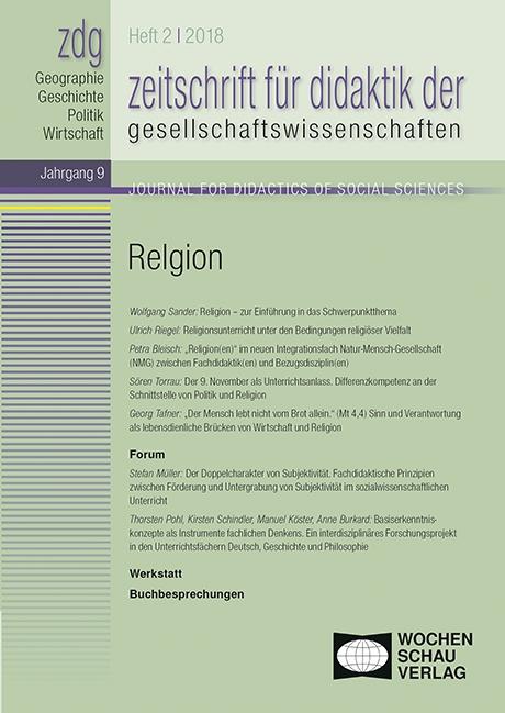 zdg 2-18 Religion