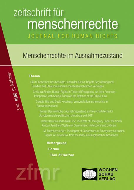 Menschenrechte im Ausnahmezustand
