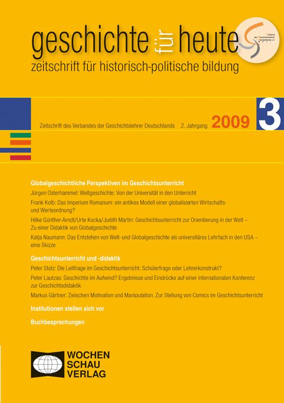 Globalgeschichtliche Perspektiven im Geschichtsunterricht